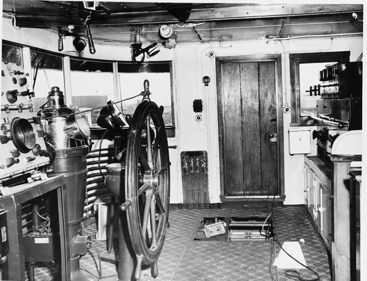 Pilot house 1951