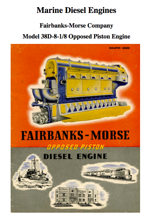 Original operating manual for twin four-cylinder DIesel engines