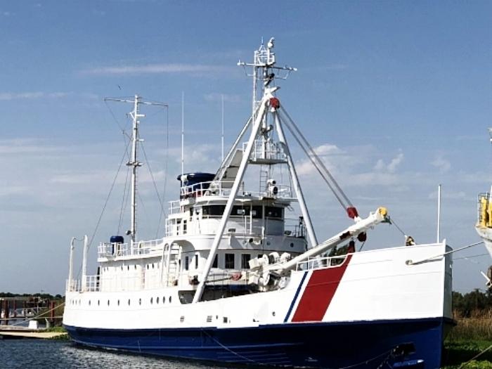 Fir's starboard profile.