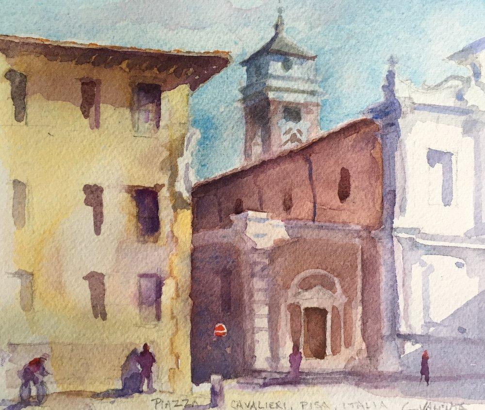 Piazza de Cavallieri, PIsa