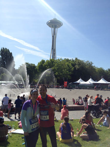Thankful For, Seattle Rock n Roll Marathon,
