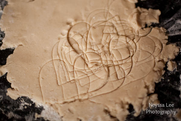 Vegan Valentine's Sugar Cookies, Kids Baking Cookie Photos,