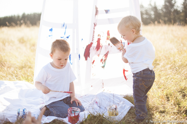 colorful mini sessions, Snoqualmie Family Photographer