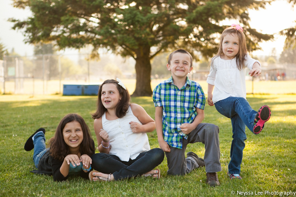 Playful poses, North Bend Family Photographer
