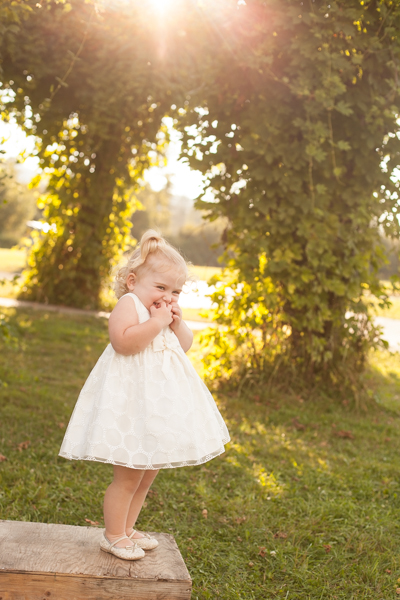 Photographing Sunshine and Dresses, sweet toddler girl