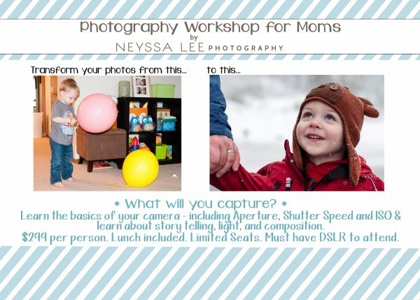 Big Changes for Fall, Photography workshop for moms, Neyssa Lee Photography, DSLR Class