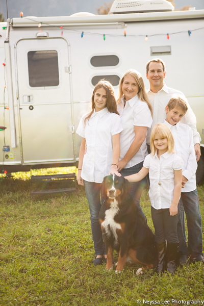 Family Photos with an Airstream, Snoqualmie Family Photographer
