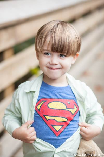Photos of Superman and His Family, Snoqualmie Family Photographer