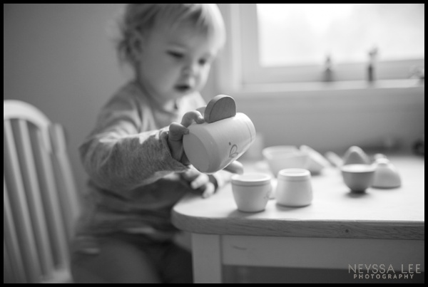 Photograph Your Kids Favorite Activity, Toddler Girl Tea Time Photo