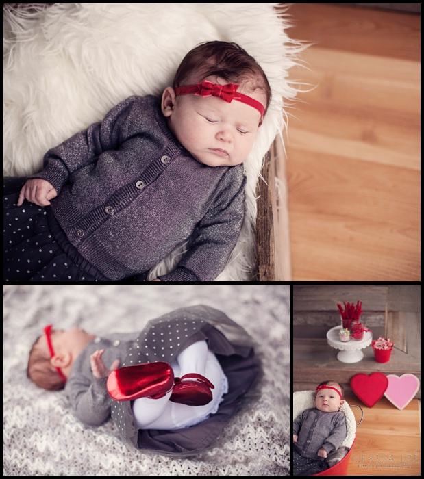 Photos of Little Valentines, Valentines Mini Session, Baby Girl,