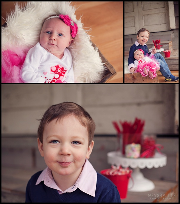 Photos of Little Valentines, Valentines Mini Session, Baby Girl, Toddler Boy