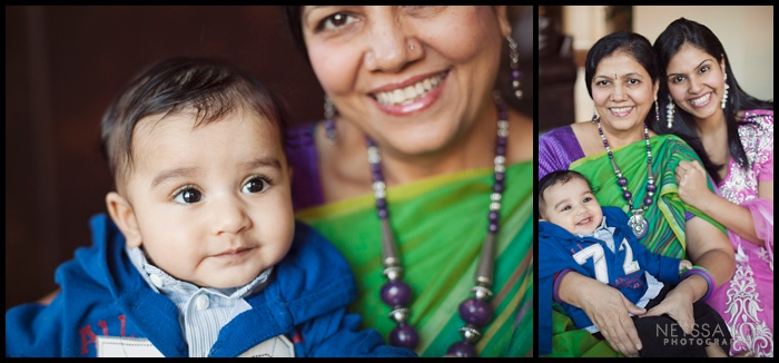 photos with grandma from India, Generational Photos, Baby Boy