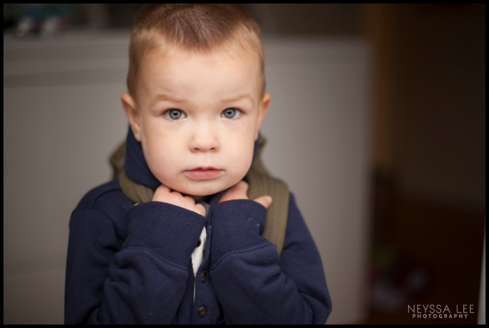 Preschool boy photography