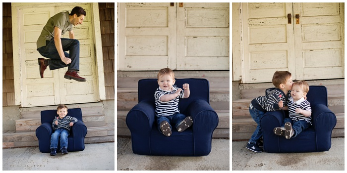 Photos of Brotherly Love, Family Photo, pottery barn chair photo, cool door photo