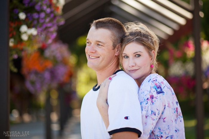 Photos of a Warrior, Couple Photo, Flowers,