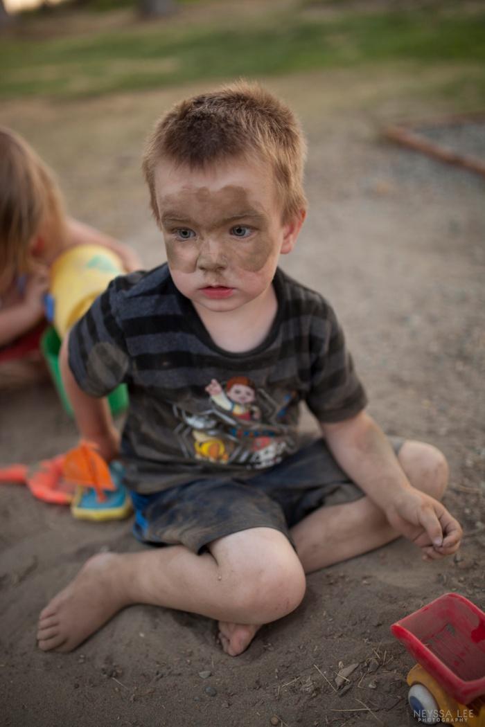 Photos of Summer, boy in sand,