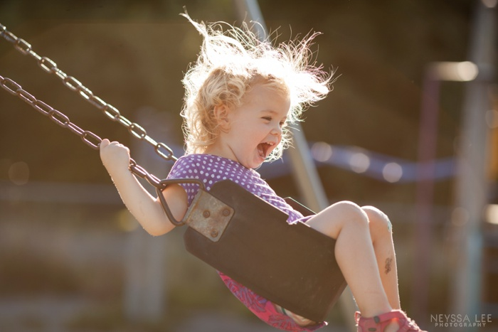 Summer Photo Challenge, Swinging, Pure Joy