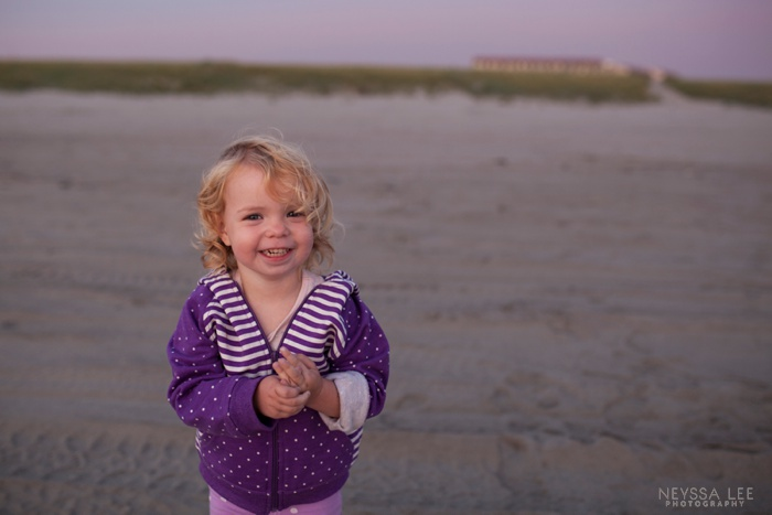 Summer Photo Challenge, Preschool Girl on Beach, happy girl