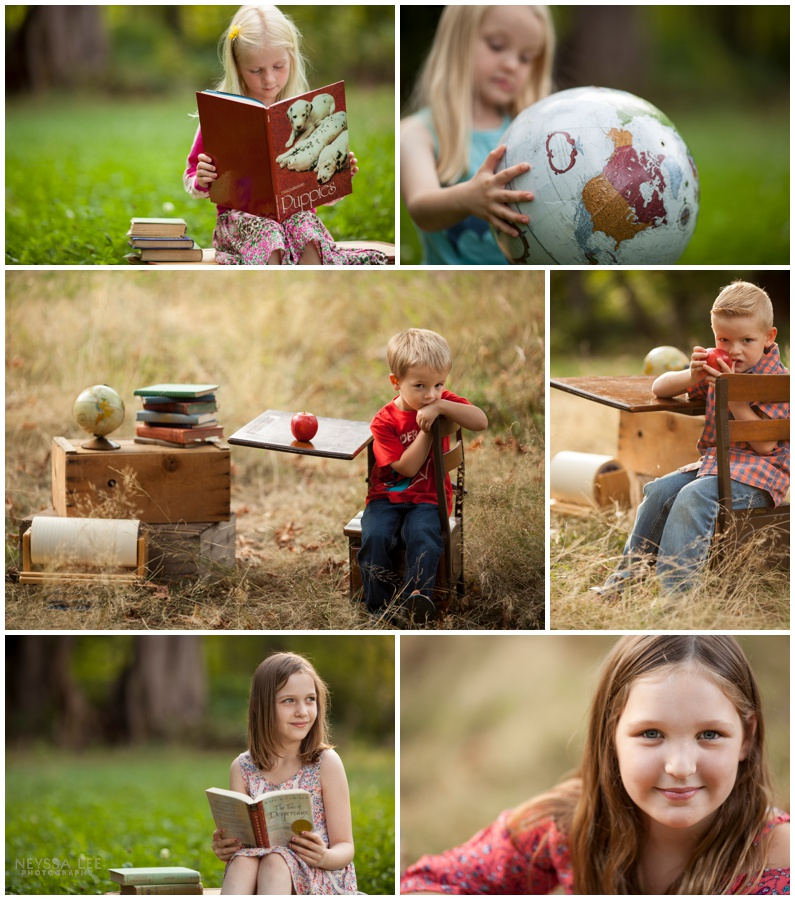 non-school photo, back to school mini session,