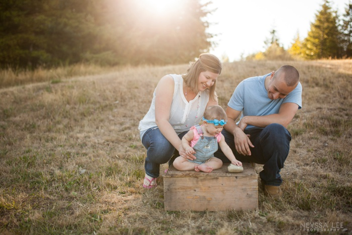 gorgeous sunlight, 8 month old baby girl, family photos