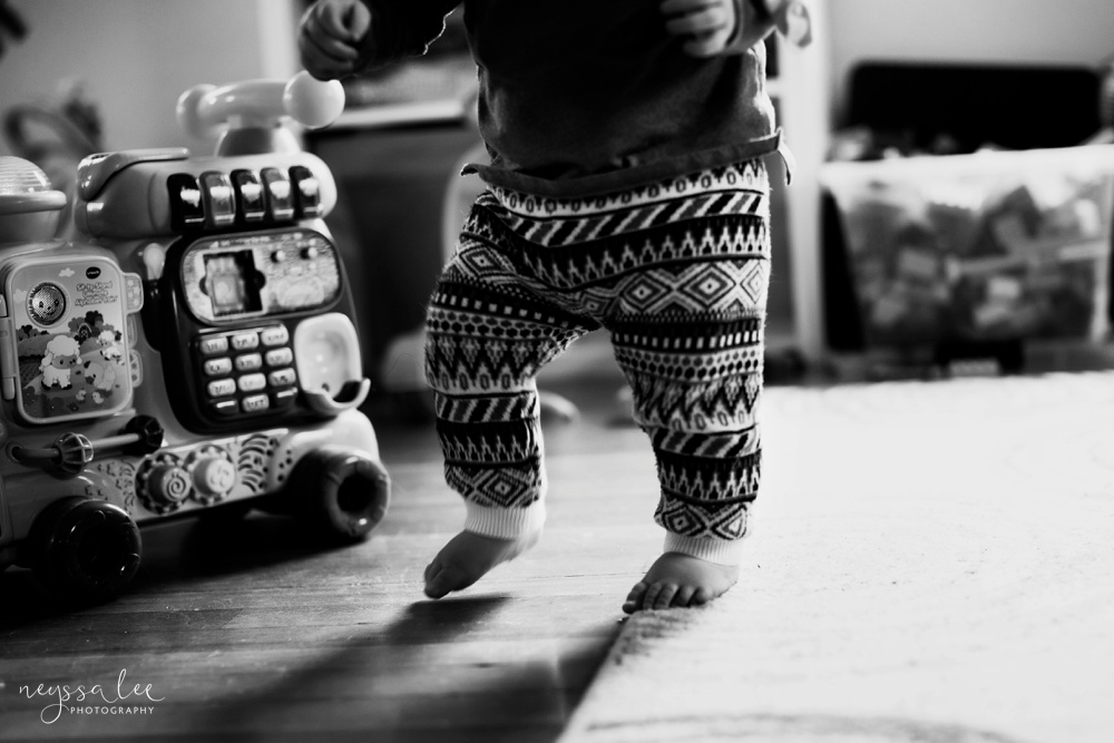 February 365 Photographs, Lifestyle Photography, Photograph Everyday Moments, First Steps Picture