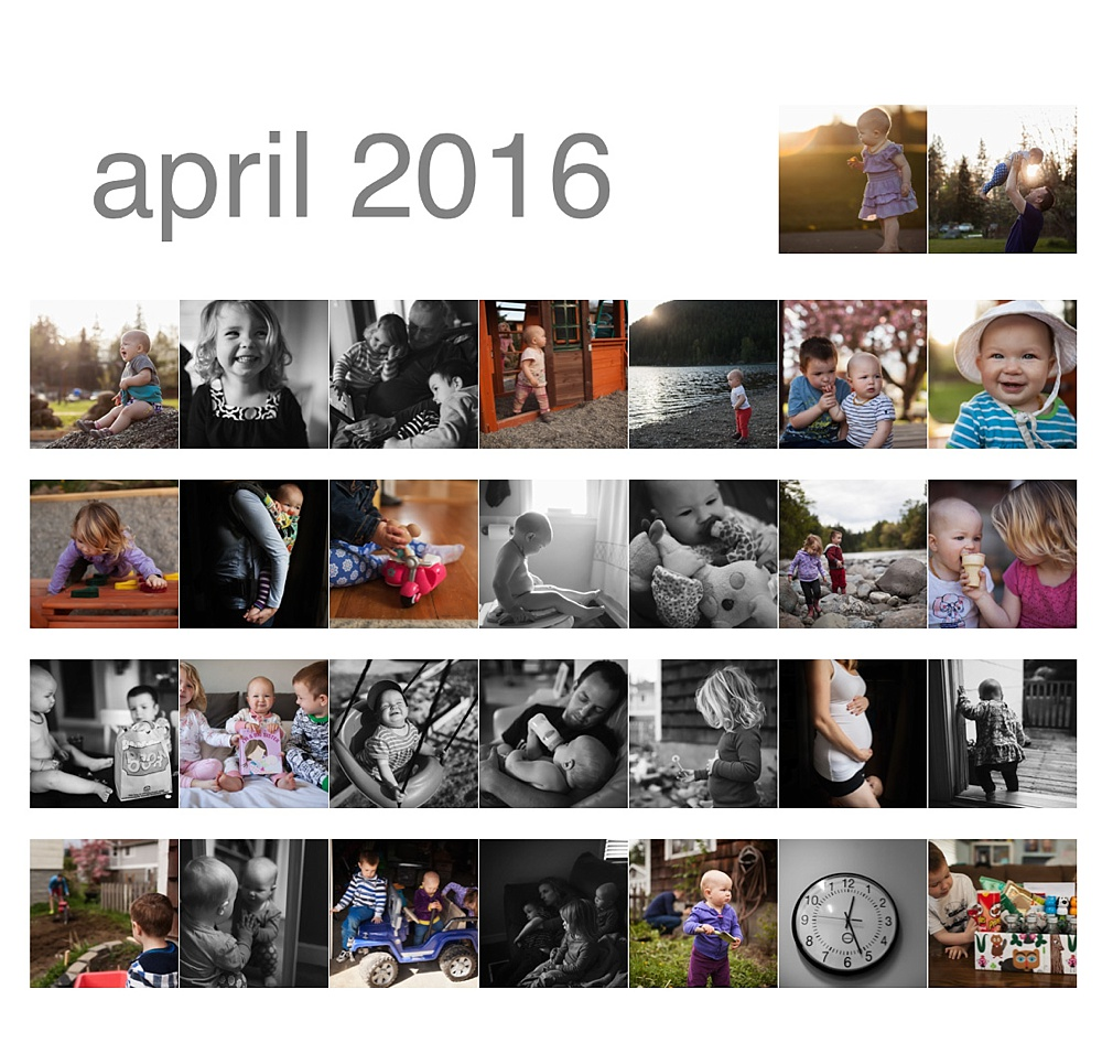April 365 photos, 365 photo project