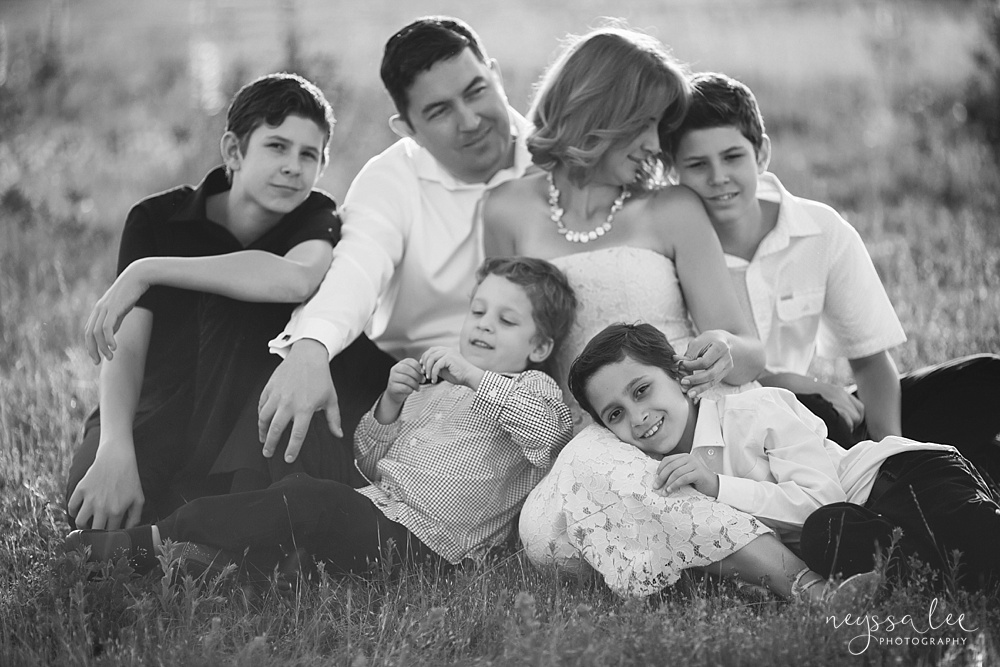 Authentic Love, Family Photography, Large family photos, Boys