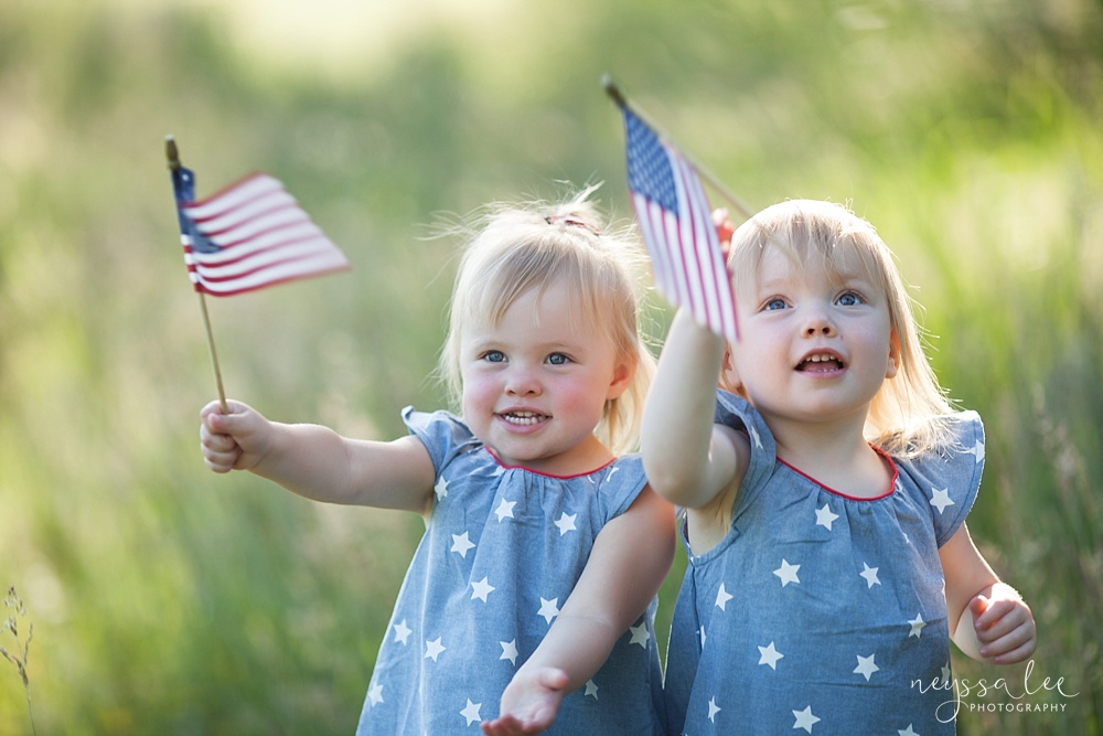 4th of July Mini Sessions, Stars and Stripes Photos, Flags
