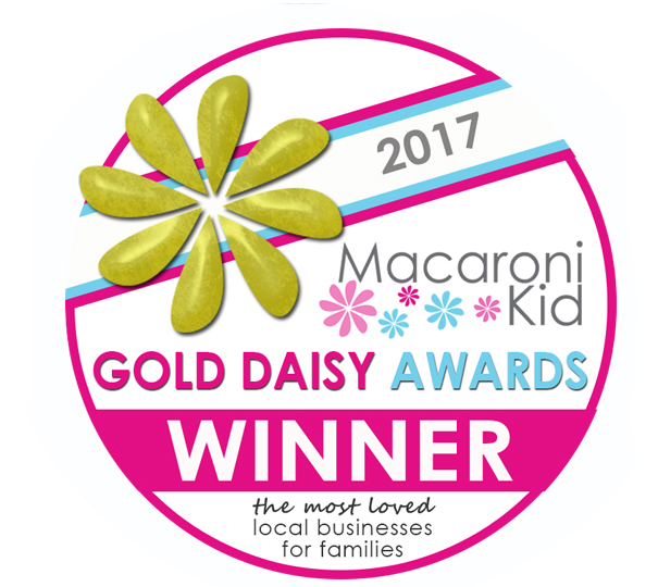 2017 Macaroni Kid Gold Daisy Award Winner -