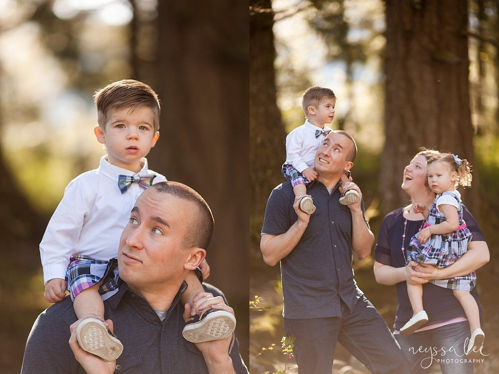 turning one, family of 4, Snoqualmie family photographer