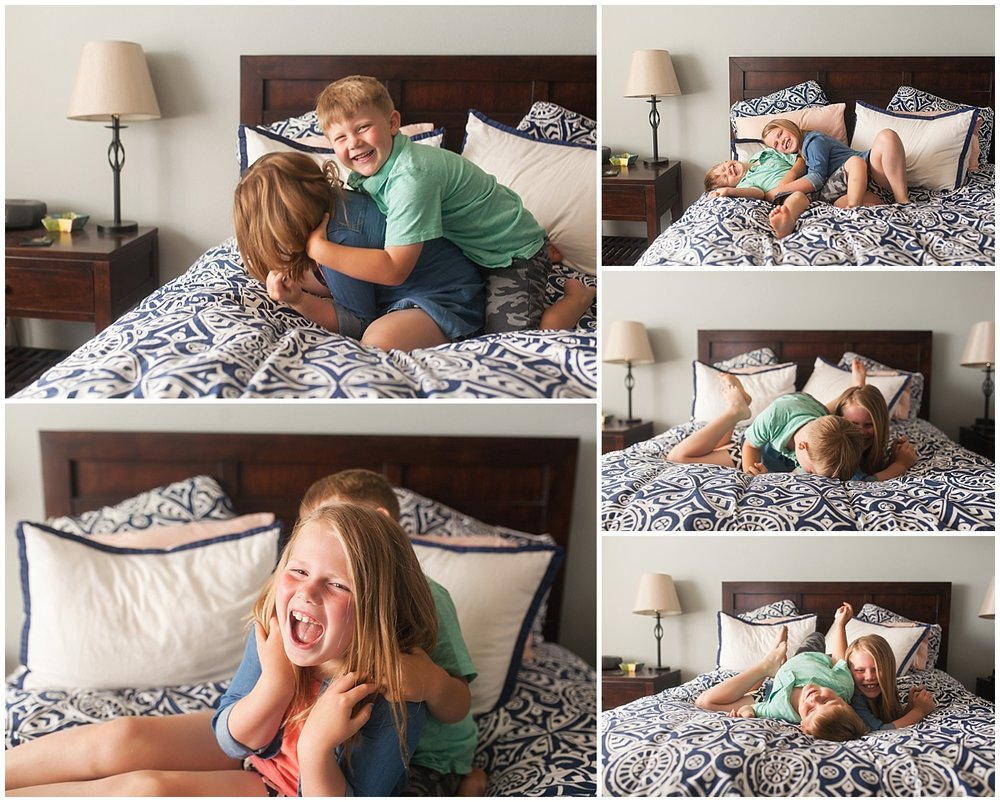 Neyssa Lee Photography, Snoqualmie Newborn Photographer, Seattle, siblings playing together