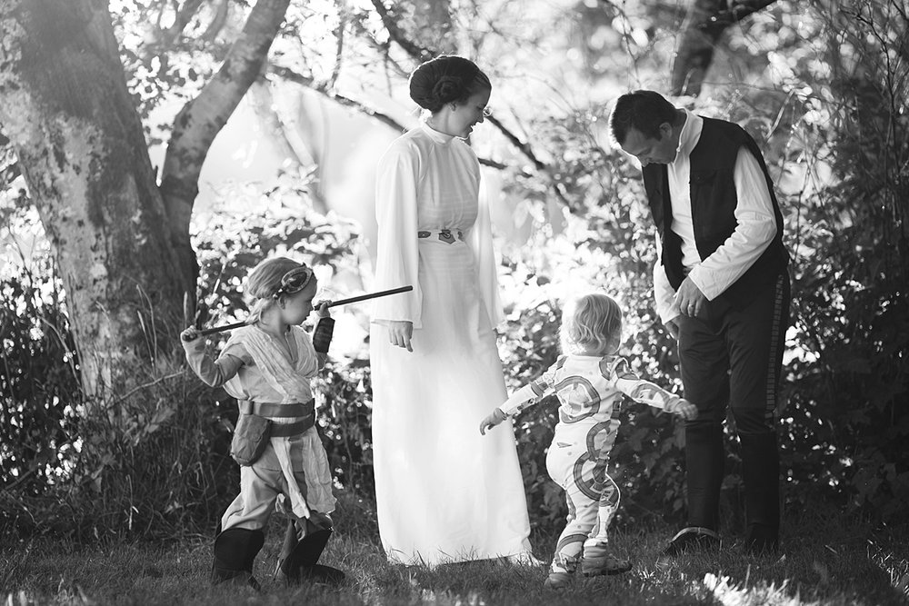 Star Wars Pregnancy Announcement, baby 4
