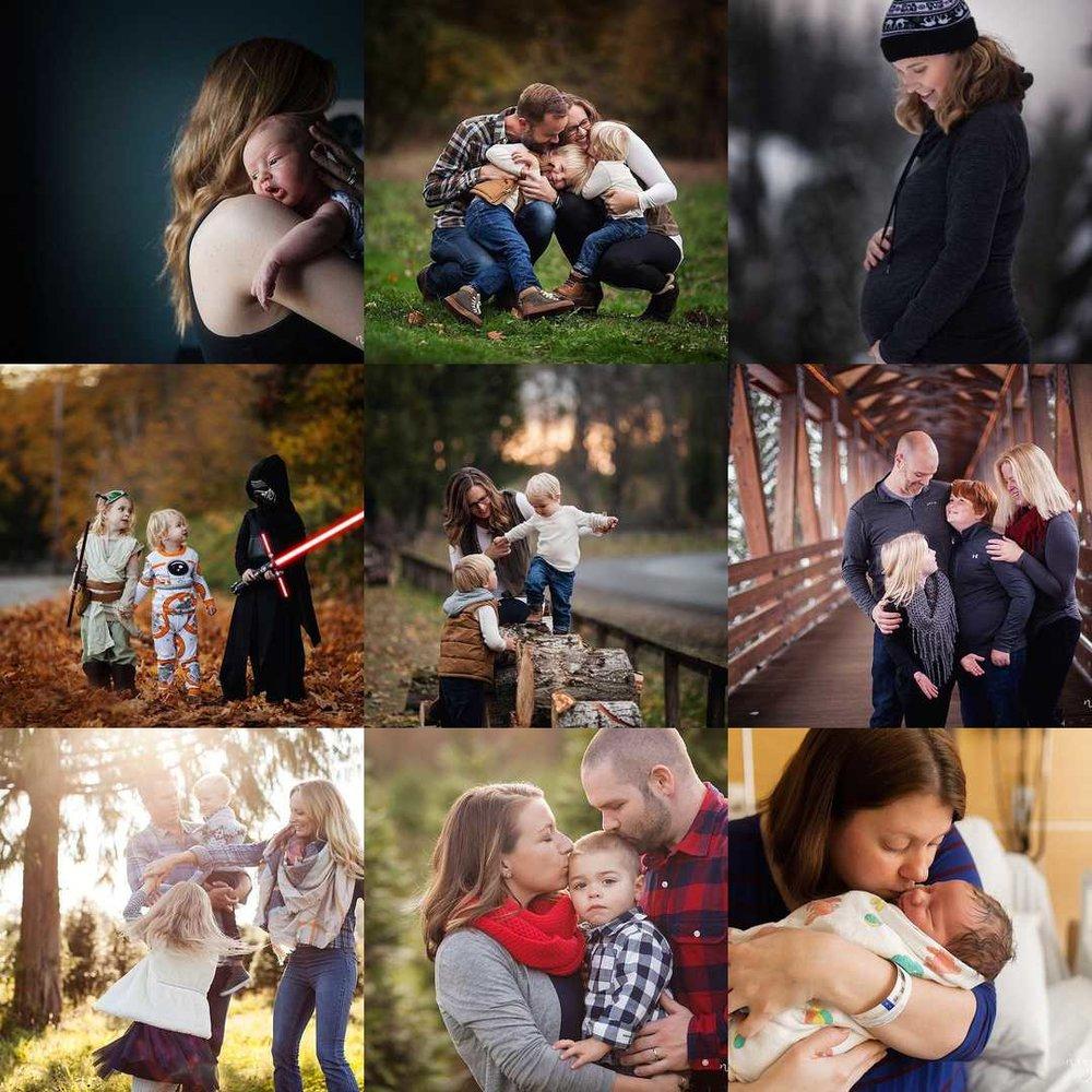 Neyssa Lee Photography, 2017 Best Nine, Snoqualmie Family Photographer