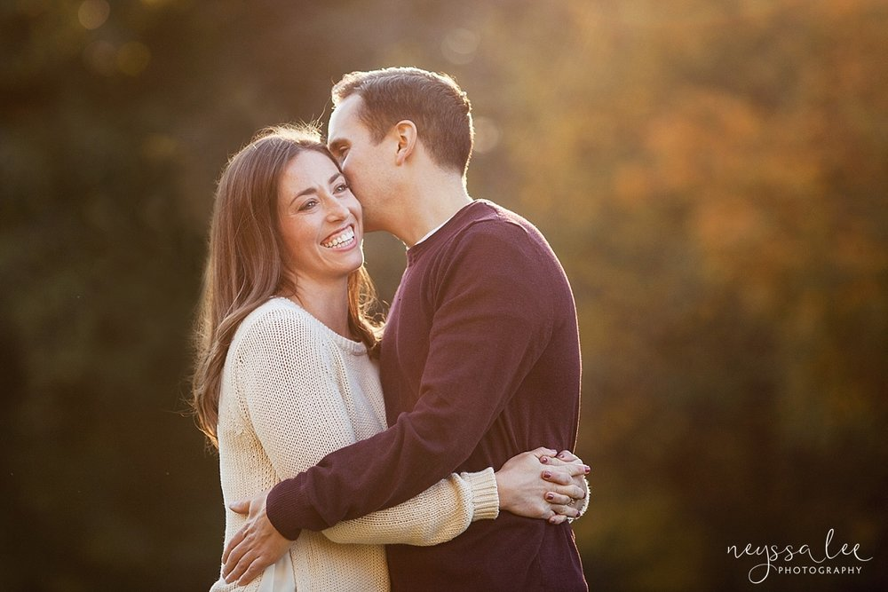 5 Tips to Prepare for Your Family Photo Session, Neyssa Lee Photography, Issaquah Family Photographer, Husband and wife snuggled together