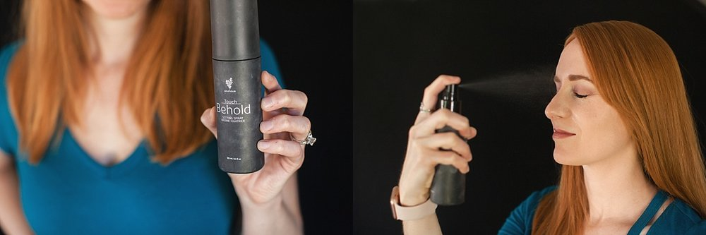 A setting spray holds makeup in place so you don't have to worry about runny, smudgy makeup.