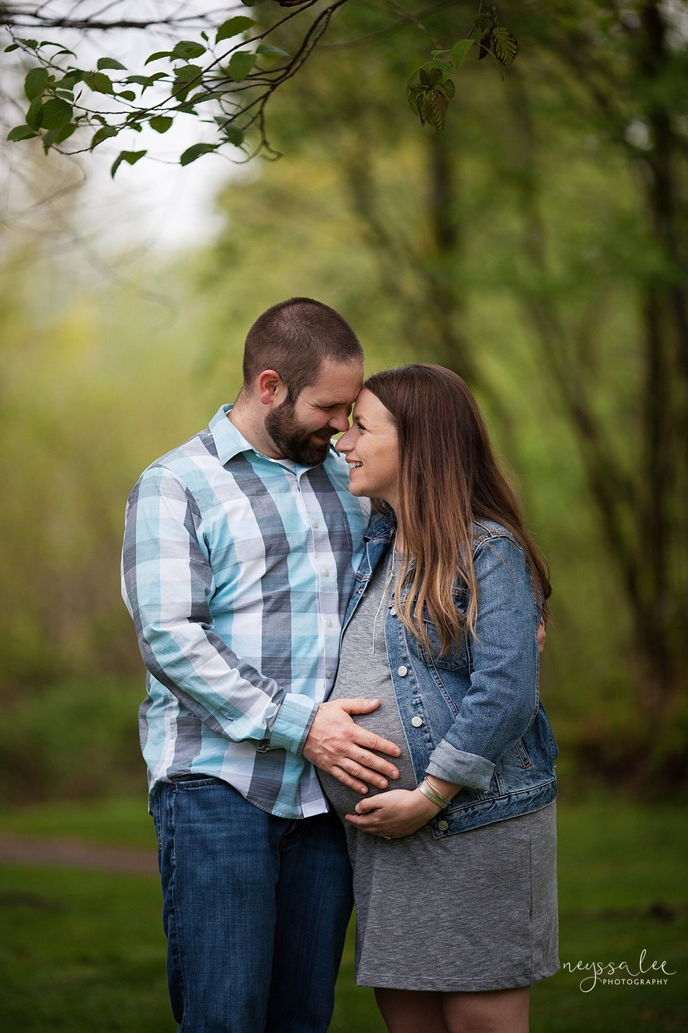 Maternity Session for each pregnancy, Snoqualmie Maternity Photographer, Neyssa Lee Photography, Husband and pregnant wife