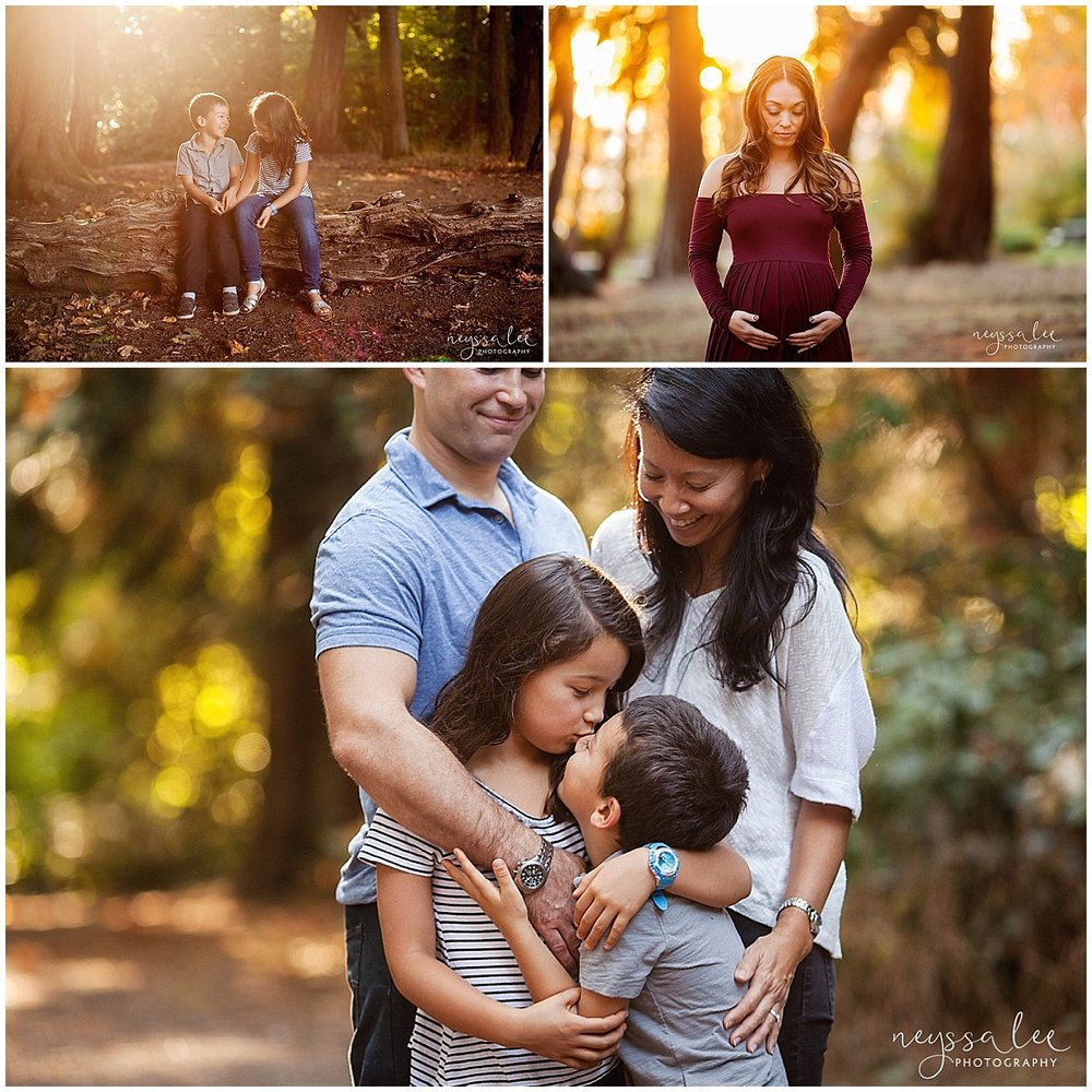 Favorite Locations for Fall Family Photos around Seattle, Neyssa Lee Photography, Snoqualmie Family Photographer,  Lincoln Park Seattle, Gorgeous Light