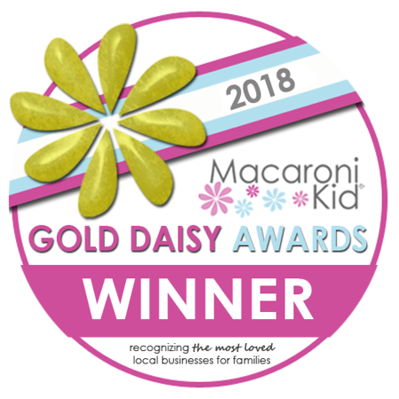 2018 Macaroni Kid Gold Daisy Award Winner -