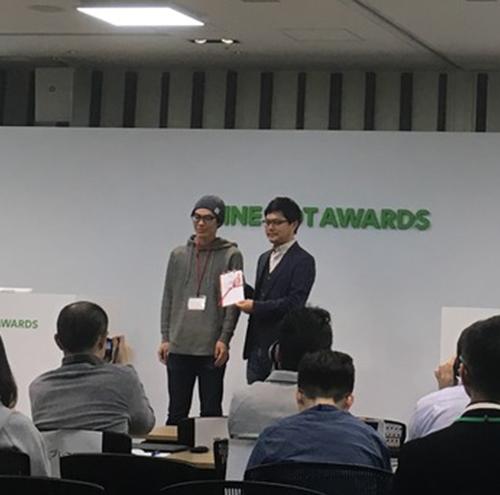 2017.03.18 LINE BOT AWARDSでSENSY botがパートナー賞受賞