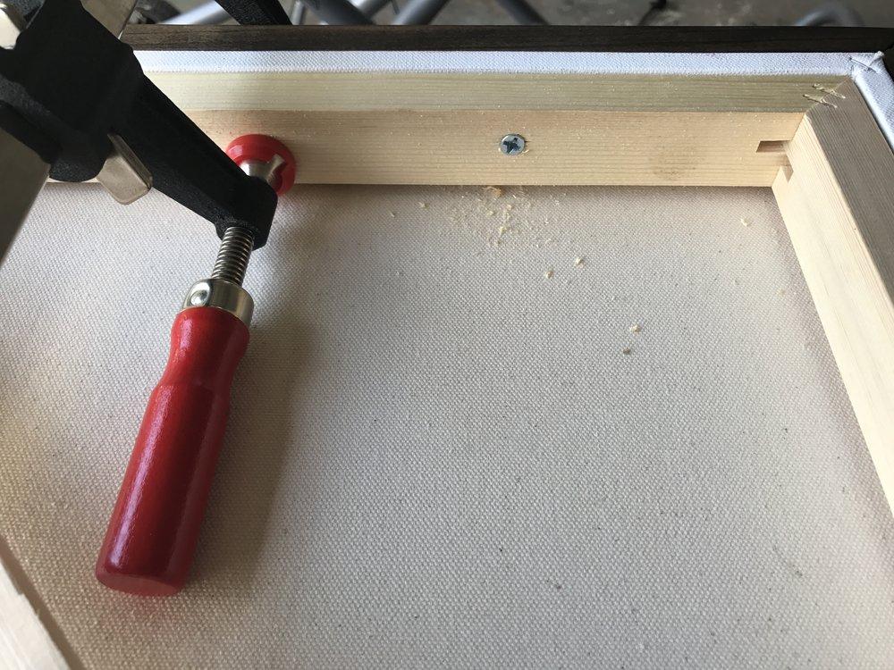 clutch bar clamp -