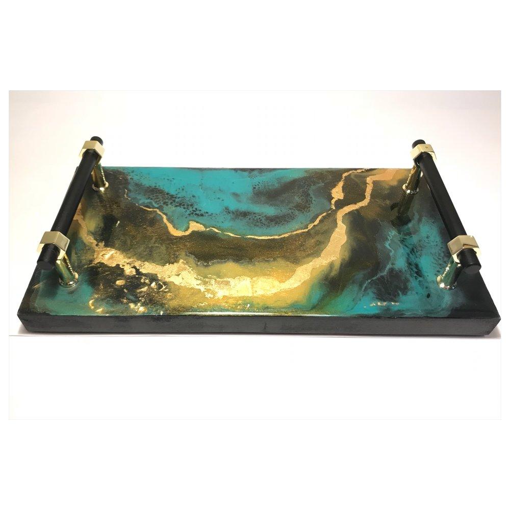 Vanity tray $150
