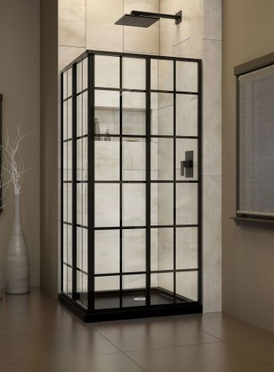 French Corner Shower Enclosure