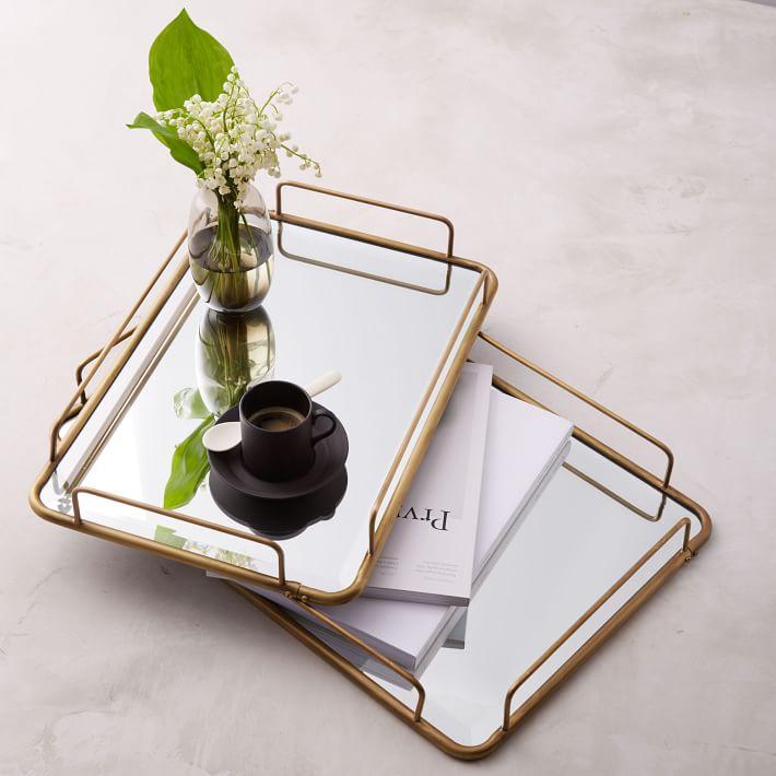 Café Mirror Tray