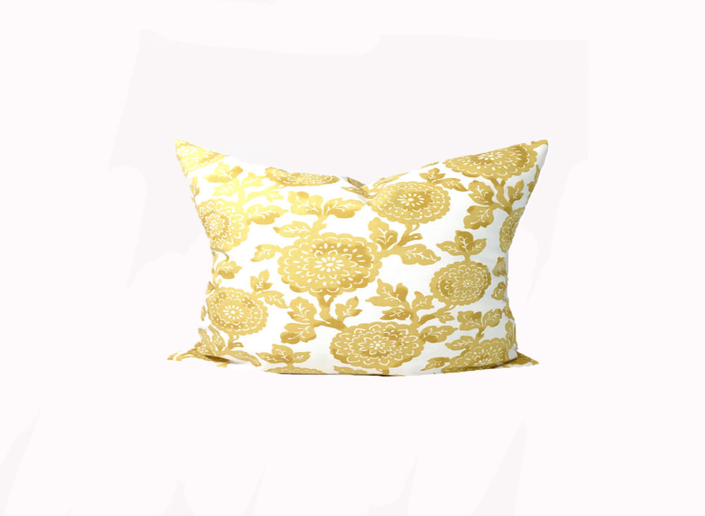 Kelsie Pillow in Saffron