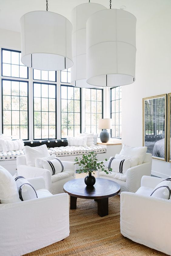 Is White Paint Still The Best Wall Color Living Room Ideasdecorated - White-living-room-painting