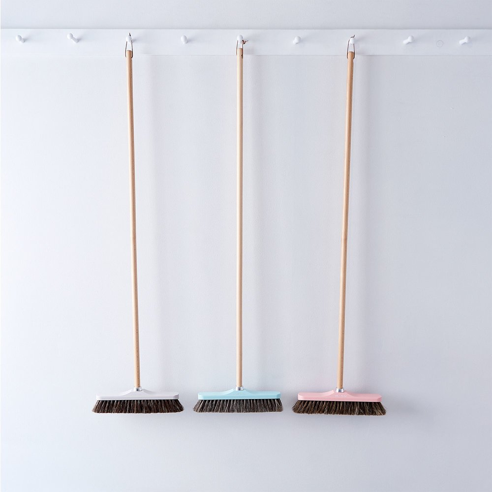Vintage-Inspired French Push Broom
