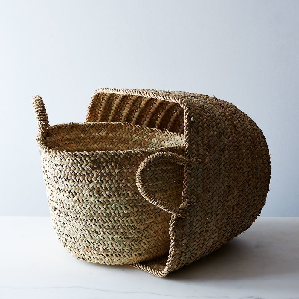 Handwoven Moroccan Baskets
