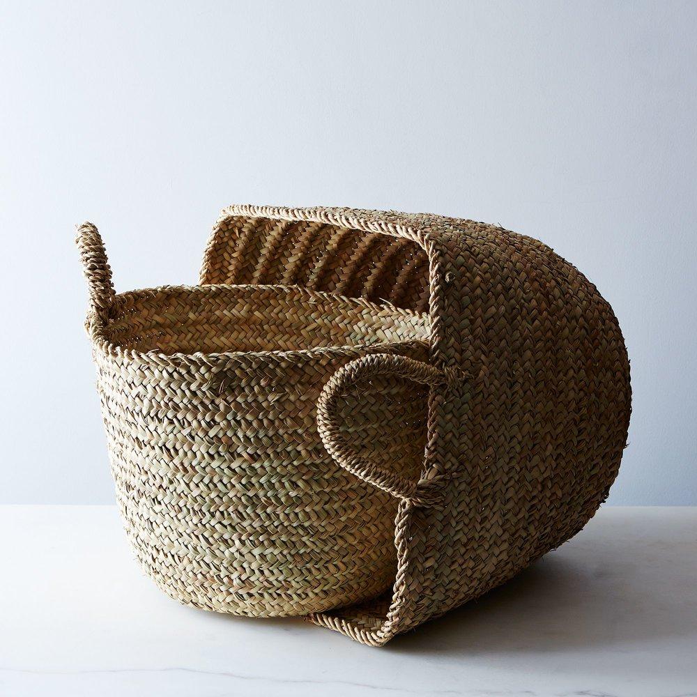 Handwoven Moroccan Baskets