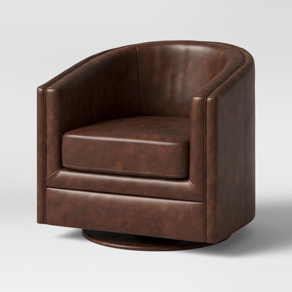 Berwick Barrel Swivel Chair