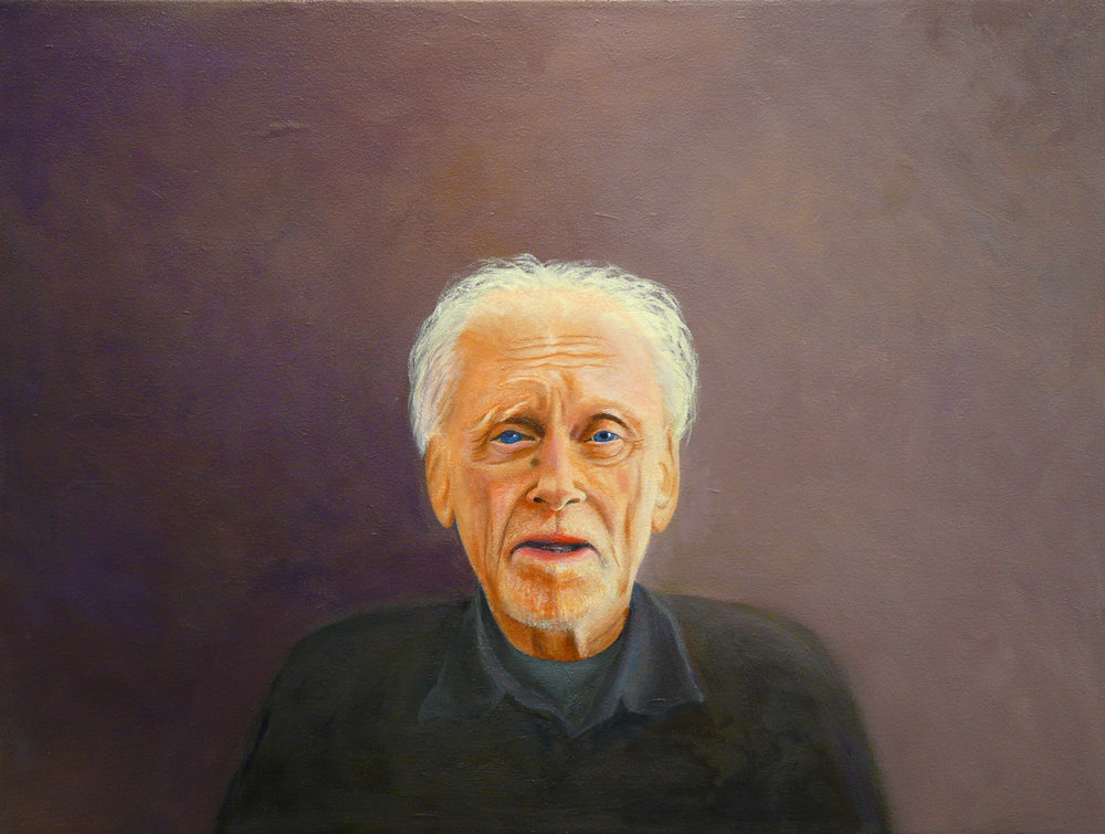 """Dragan's Dad"" Oil on Canvas 24""x20"""